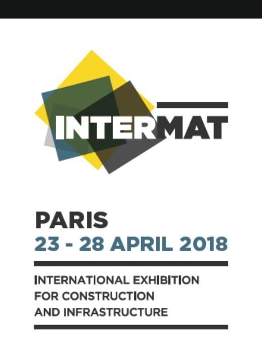 ITALVIBRAS France au Salon Intermat du 23 au 28 avril 2018